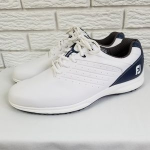 Footjoy ARC SL Spikeless Golf Shoes 13 White Navy